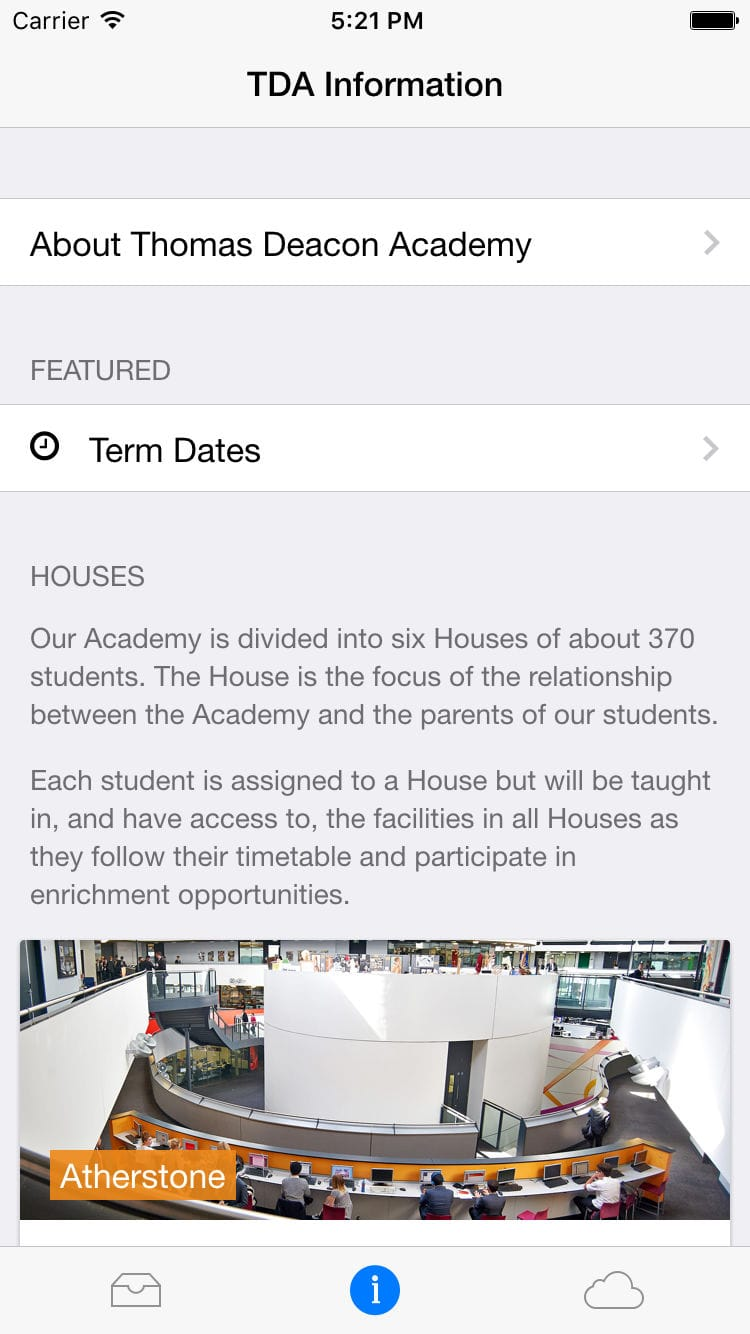 TDA Planner App iOS Screenshot by George Garside