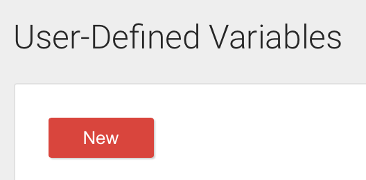 Google Tag Manager User-Defined Variables