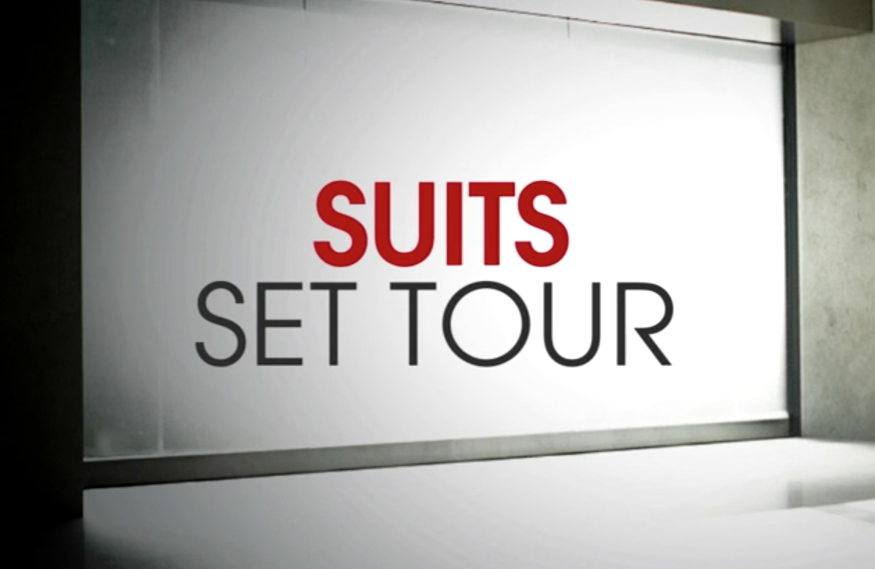 Suits Set Tour Video