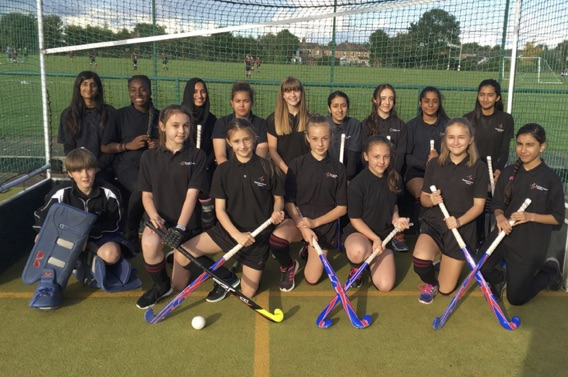 U14 Hockey team photo