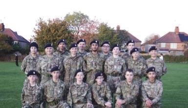 Thomas Deacon Academy CCF Cadets