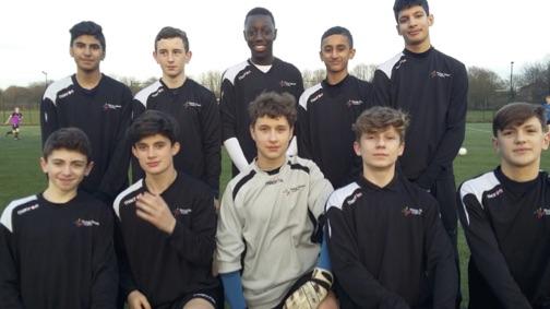 TDA Y9 football team